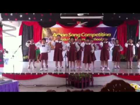 English action song competition