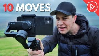 10 Smartphone Gimbal Moves for Beginners   Master The Basics in 5mins