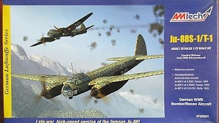 AmTech 1/72 Ju-88S-1 Build Part 1: Review