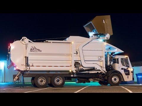 Mack LR - Dadee Mantis Front Load Garbage Truck