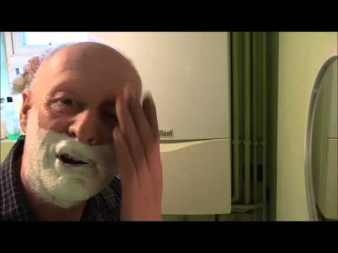 Wiltshire Man has a Close Shave