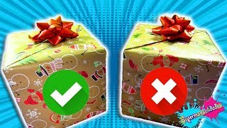 Gift or Coal: DON'T choose the wrong gift (Slime challenges) - Supermanualidades