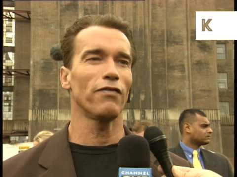 1997 Interview, Arnold Schwarzenegger on Batman & Robin Movie Role