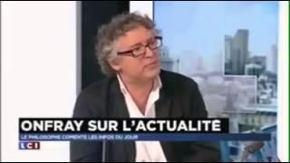 Michel Onfray ose dire SA vérité sur les attentats en Direct sur un plateau , sans être couper
