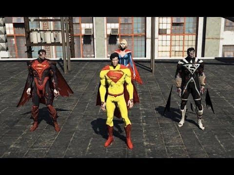 GTA 5 - Hành tinh Superman lâm nguy - Superman siêu cấp độ xuất hiện   GHTG