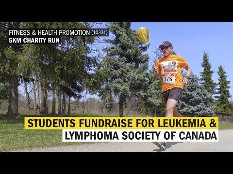 Fitness & Health Promotion Students Fundraise for the Leukemia & Lymphoma Society of Canada