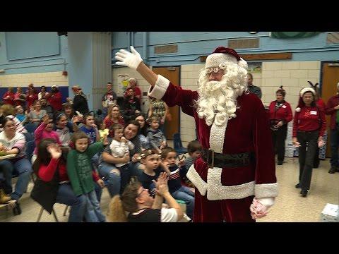 Northrop Grumman visits Marley Glen School