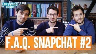 FAQ Snapchat #2