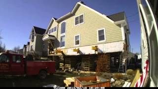 Dawn House Movers - Super Storm Sandy House Lift