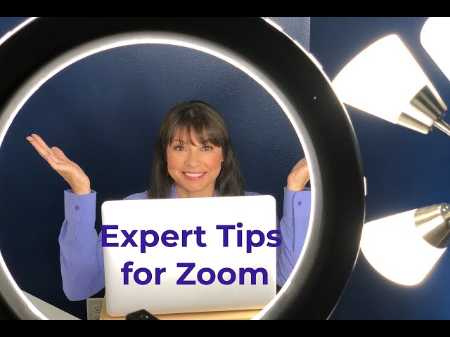 5 Expert Tips on How to Look Your Best on Zoom Online Calls