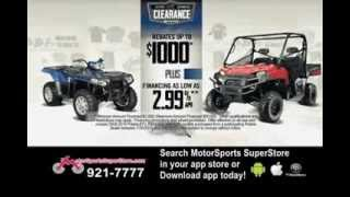 Polaris 2013 Factory Authorized Clearance Sale!