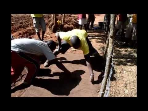 DNS2013 Africa travel 5 part - Guinea-Bissau, tree planting