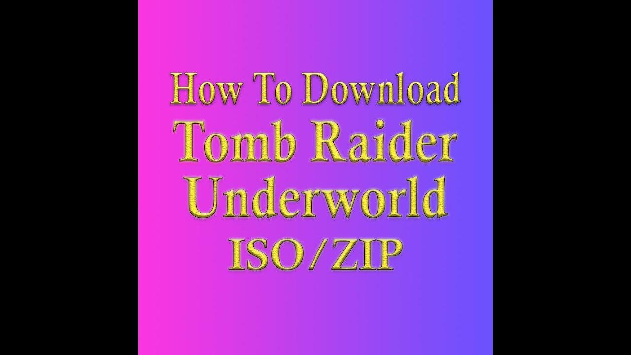 tomb raider underworld iso pc