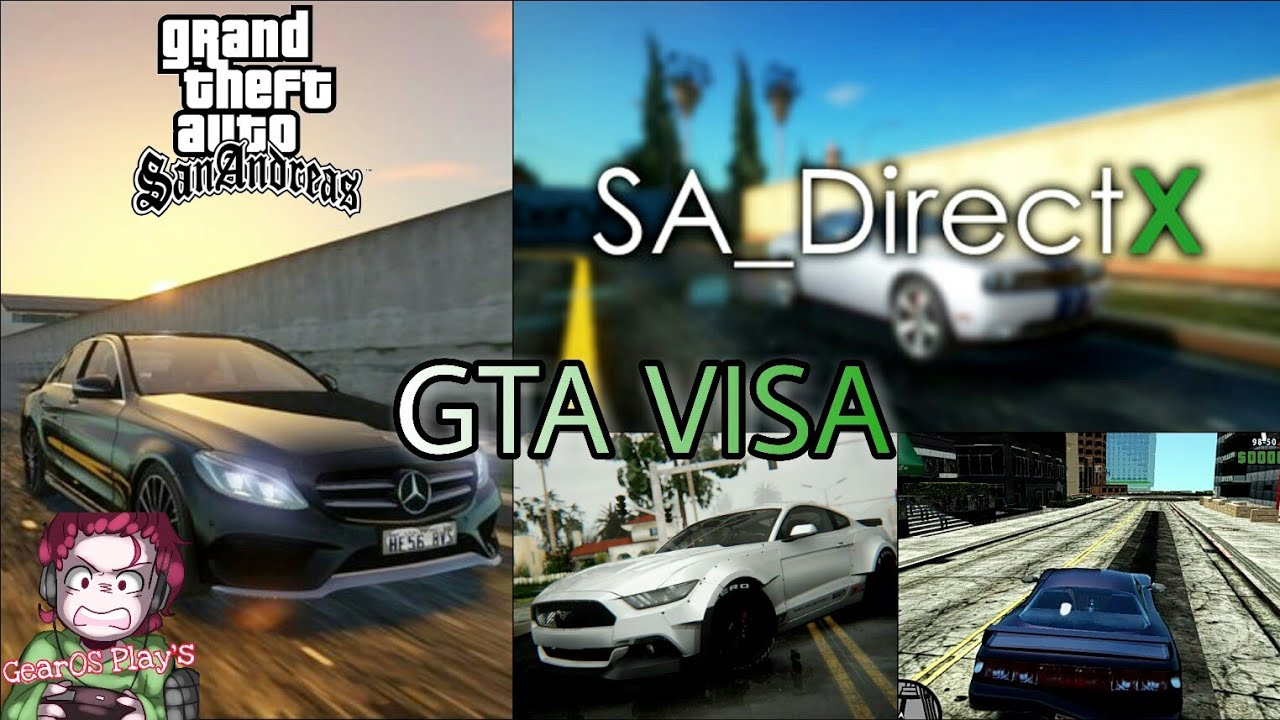 Install   SA DirectX 2 0   High Graphics MOD in GTA 5 Map in