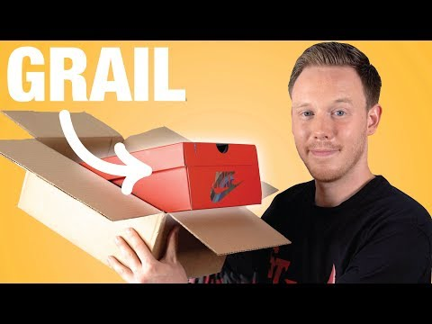 UNBOXING One of My Sneaker GRAILS!