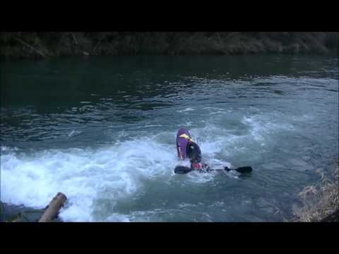 2017 1 21 HIROSHIMA still water freestyle kayaking