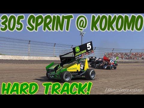iRacing 305 Sprint Car at Kokomo Speedway