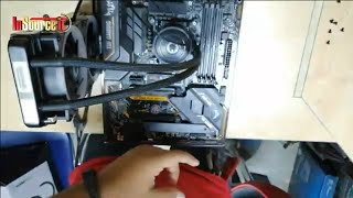 how to install Gamemax Iceberg 240 Water Cooling System CPU Cooler