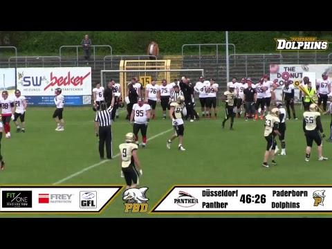 Paderborn Dolphins vs. Düsseldorf Panther