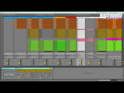 aableton live how to set markers