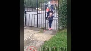 UK Kids Unhappy with Neighbors (Rude and Hateful Little Racist Children)