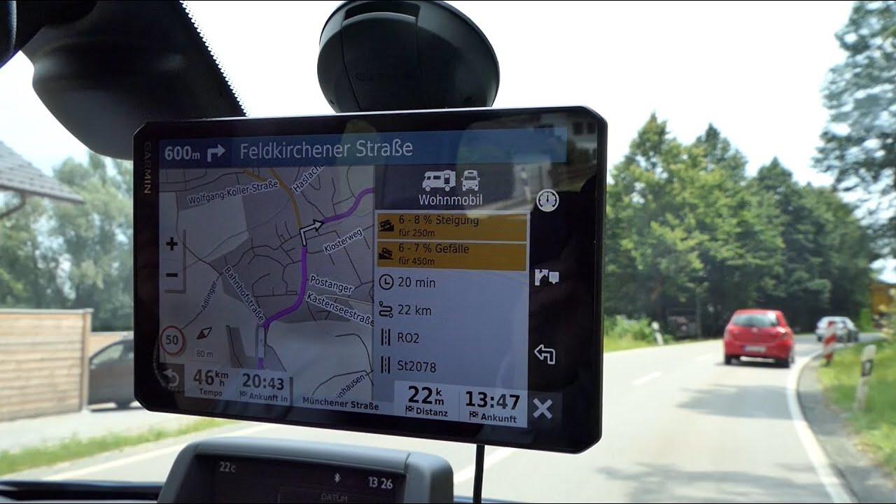 Unboxing Premium-Navigator Garmin Camper 10 MT-D für Wohnmobil/Wohnwagen –  10-Zoll-Display, GPS-Navi