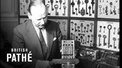 London Master Locksmiths Exhibition Of Locks & Keys (1961)
