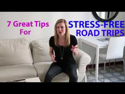 7 Tips for Stress-Free Road Trips!