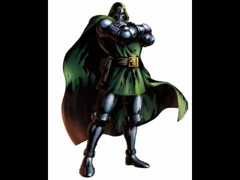 Marvel vs Capcom 3 - Doctor Doom Sound Clips