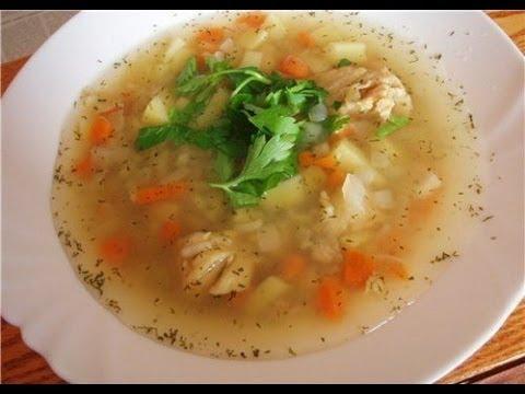 Рецепт мужского рыбного супа