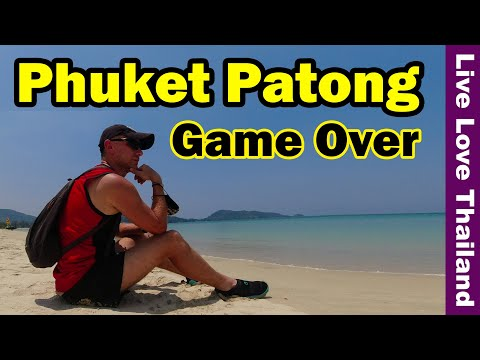 Phuket Patong Game Over | No Tourists No Life #livelovethailand