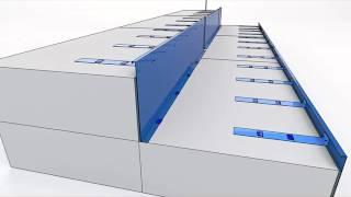 PREFoam Riser System Assembly