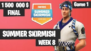 Fortnite Summer Skirmish Week 8 Day 4 Grand Final Game 1 Highlights PAX WEST