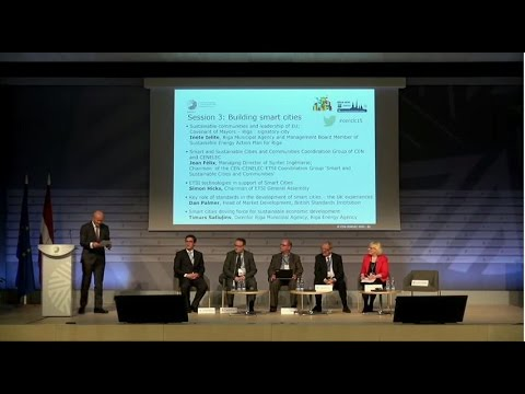 European Standardization Summit: Session  on building smart cities