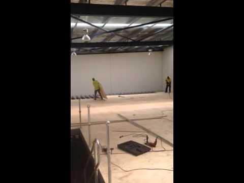 Mezzanine floor video