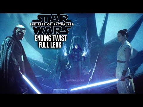 The Rise Of Skywalker Ending Twist FULL Leak Revealed (Star Wars Episode 9)