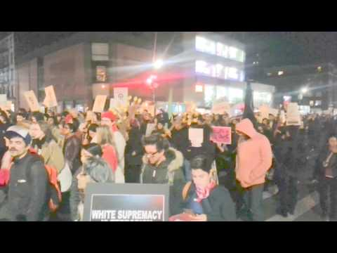 NY InfoWars coverage of VILLAGE PROTEST, ANTI-TRUMP Protest
