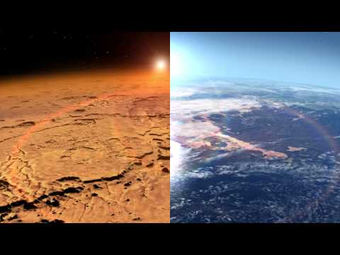 NASA Planetary Science: Mars Ocean