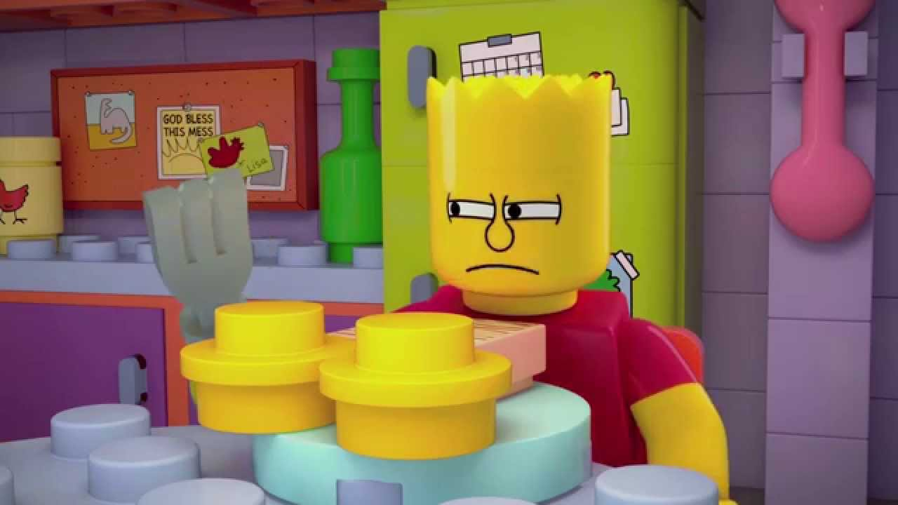 LEGO The Simpsons: Brick Like Me Trailer