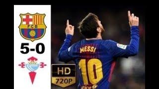 Download Video Barcelona vs Celta Vigo 5-0 - All Goals & Highlights - 11/1/2018 HD MP3 3GP MP4