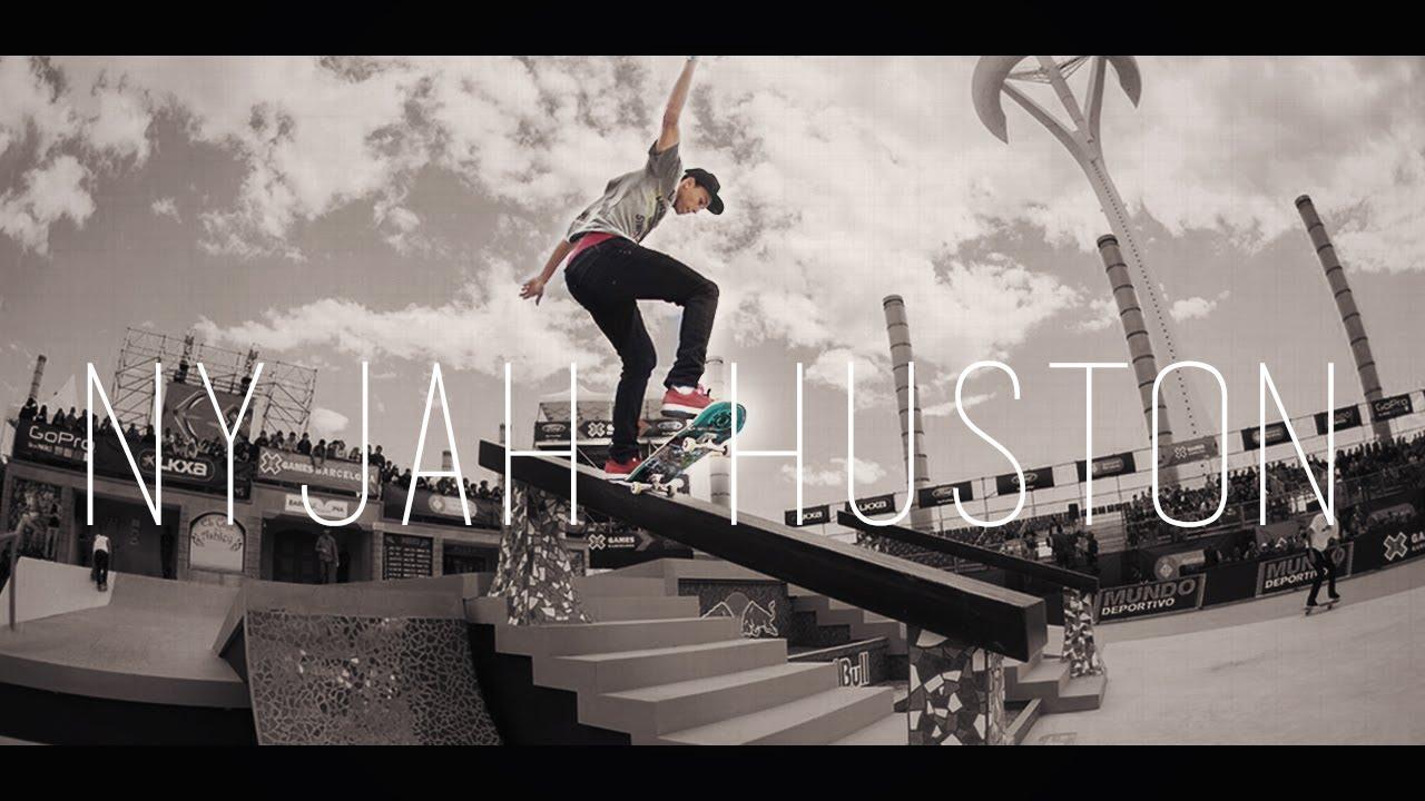 Nyjah Huston [Skate Edit] - YouTube