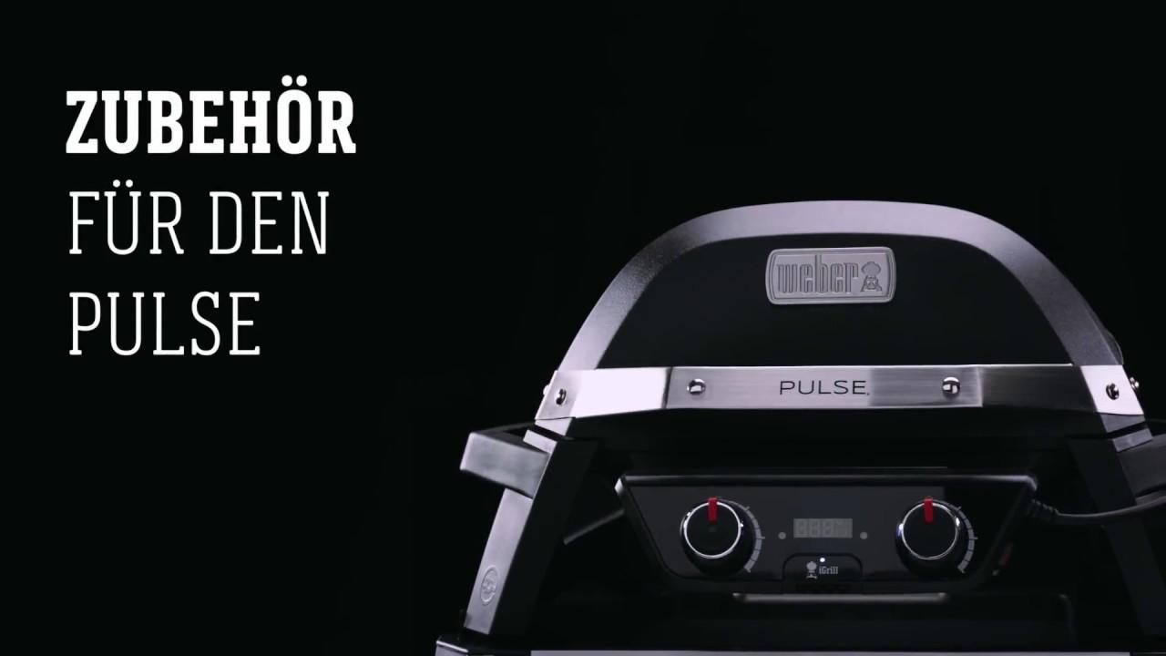 Weber Elektrogrill Zubehör : Weber stephen grill pulse zubehör youtube