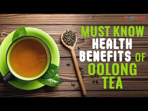 Must know Oolong tea health benefits