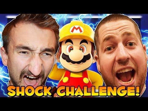 Mario Maker ELECTRIC SHOCK Challenge (Hardest Level Ever?)