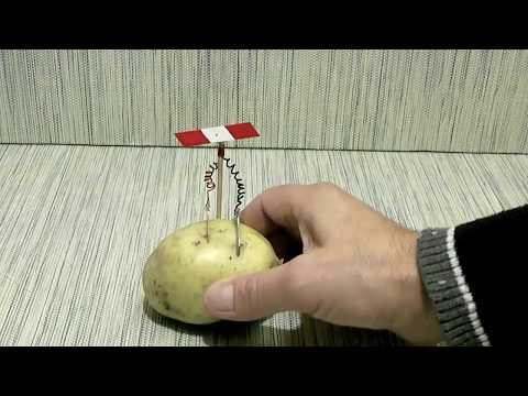 Power Potato Battery Easy Energy