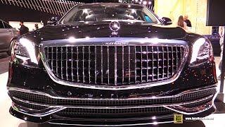 2019 Mercedes S560 Maybach - Exterior and Interior Walkaround - 2019 NY Auto Show