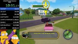 The Simpsons: Hit and Run 100% Speedrun - 3:39:11