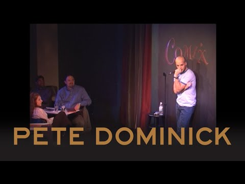 Wrote A Joke On Stage | Pete Dominick | Comix