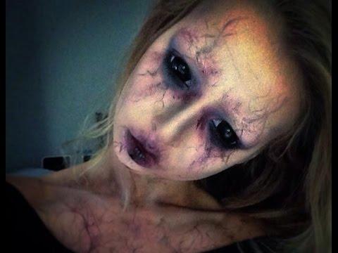 tutoriel maquillage d'halloween, demon streaming vf