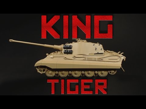 Tamiya 1:35 Scale King Tiger Ardennes Front Build